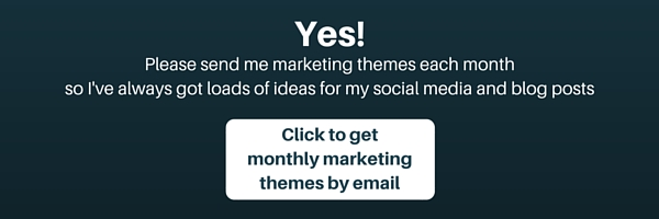 Monthly marketing themes by email for free