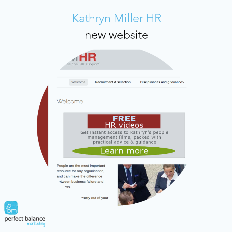 Kathryn Miller HR – new website