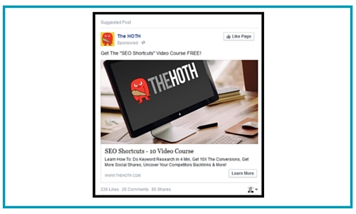 good facebook ad