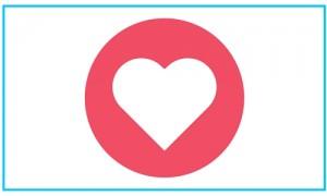 new Facebook love button