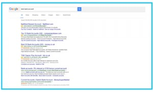organic listings after Google removes sidebar ads