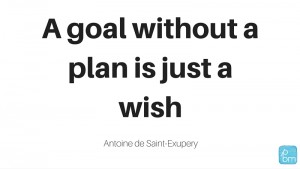 Planning motivational quote