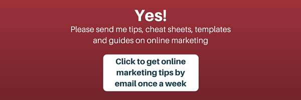 Online marketing weekly tips