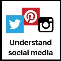start here using social media