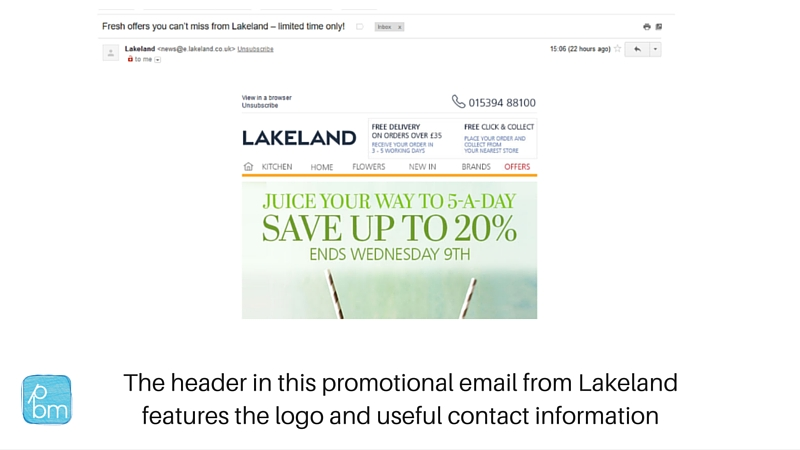 how to examples of retailer email campaigns
