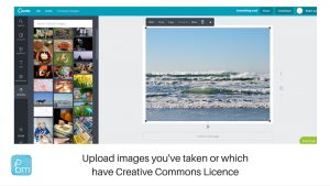 how to upload images in canva