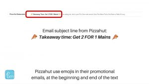 using emojis in subject lines in Mailchimp