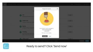 sending your first promotional email to subscribers from Mailchimp