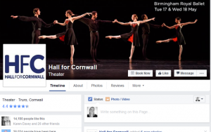 hall for cornwall facebook cover photo for event