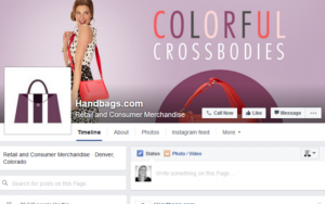 promote a product via facebook cover photo