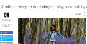 things to do in May bank holiday 2016