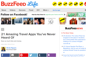 21 travel apps you've never heard of on Buzzfeed