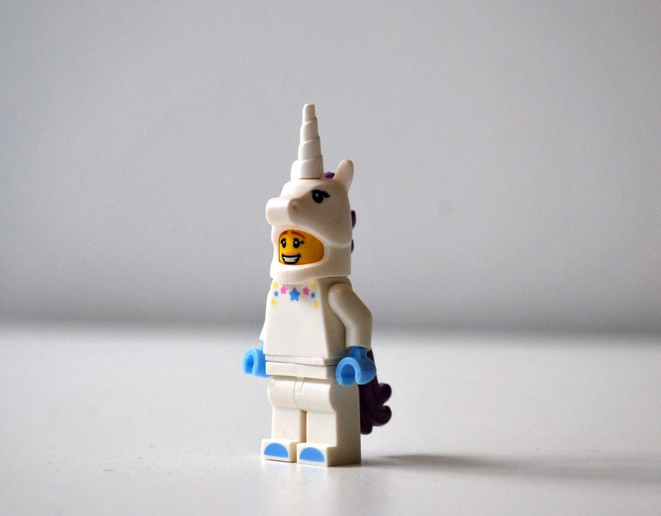 unicorn lego minifigure