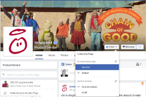 how to turn on facebook notifications for pages