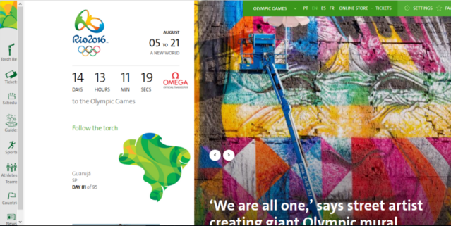 august marketing themes Rio Olympic Games 2016