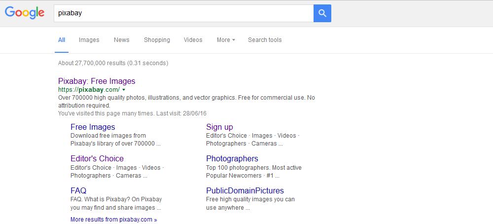 pixabay search on google